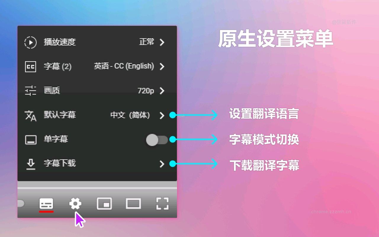 YouTube 双字幕_3.3.0_1