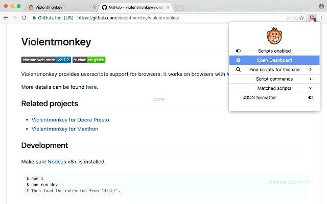 ViolentMonkey 暴力猴_2.13.0_1