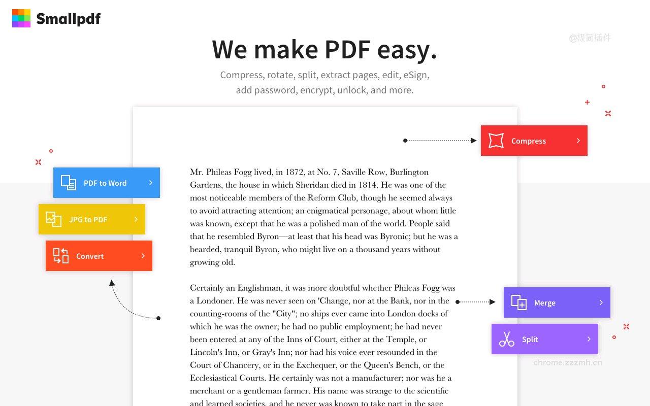 Smallpdf PDF工具_0.18.8_0